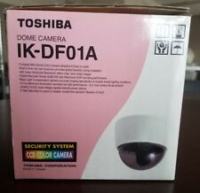 Toshiba Dome Camera Ik-Df01A Ccd Color Camera