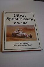USAC Sprint History 1956 -1980 25th Anniversary Commemorative Book Hungness