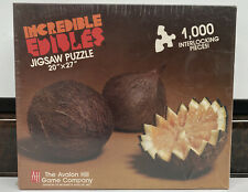 """Avalon Hill Incredible Edibles 1000 Piece """"COCOFRUIT"""" 20"""" X 27"""" Jigsaw Puzzle"""
