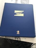 1997 - 1998 USPS Commemorative Stamp Club Album 40 Pages & 298 Stamps & FREE...