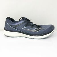 Saucony Mens Triumph ISO 4 S20413-1 Blue Black Running Shoes Lace Up Size 13