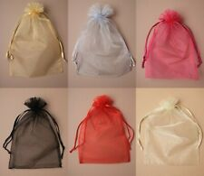 Pack of 12 Extra Large Organza Bags Gift Bag Christmas Wrapping Sweet Bags