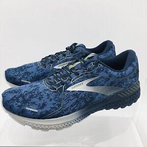 Brooks Adrenaline GTS 21 Men's Navy / Grey Running Shoes Size 11.5 D Medium