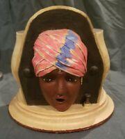 Antique Kindel & Graham Gypsy Head Style Cigarette Dispenser 1920's