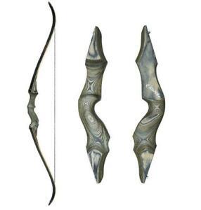 NMCPY Archery Takedown Recurve Bow Limbs 20lbs 28lbs 34lbs 38lbs ILF Bow Limbs