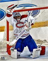Charlie Lindgren Canadiens Signed 16x20 Glove Save Photo - Fanatics