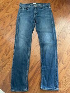 Hudson Gia Midrise Skinny Jeans - Size 32