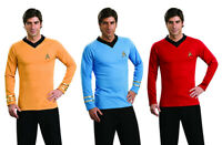 STAR TREK Uniform Original Series Mens TOS Costume Shirt Adult Kirk Spock Scotty
