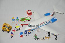 Playmobil Flugzeug Pacific Airline 5395 Zoll Beamte Dieb Trans Auto Flughafen