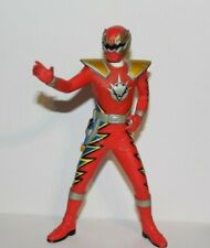 Bandai Set 2 EPIC RED RANGER 6in Solid Figure~Power Rangers 15th Ann 2007