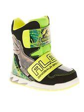 Jurassic World Toddler Boys' Licensed Hi-Top Light-Up Sneaker Boots Lights Kids