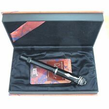 Montblanc Limited Edition Agatha Christie Fountain Pen Medium Pt In Box *