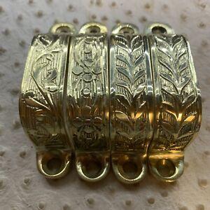 BSA SUPERTEN HAND ENGRAVED Brass Trigger Guards