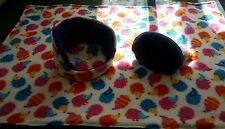 Fleece cage liner Cuddlecup and Snuggle sack set