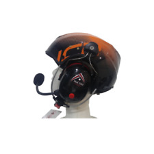 Helmet with communication system for Paramotor Pilots