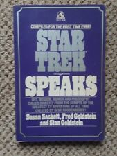Star Trek Speaks - 1st Wallaby Edition