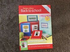 37 Mini Back To School themed pictures Patterns cross stitch chart Only (332)