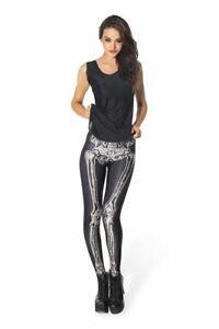 Black Milk Clothing - Leg Bones 3.0 Leggings S