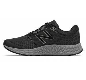 New Balance Fresh Foam 1165 Mens Black Grey Wide Medicare Walking Shoes MW1165BK
