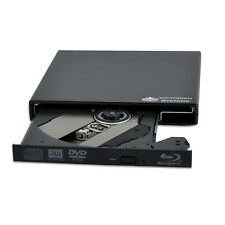 New USB 2.0 External Blu-ray Burner Drive BD-RE DVD±RW DL BLU RAY Player Writer