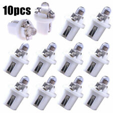 10x T5 B8.5D 5050 SMD LED Tube Car Vehicle SUV Instrument Dashboard Light Bulbs
