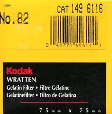 Kodak Wratten Filtro Gelatina 82 Corrección de color (75mmx75mm)