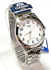 Casio White Dial Stainless Steel Analog Men Quartz Casual Watch MTP-1274D-7B