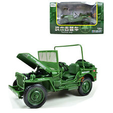 KDW 1/18 Scale Diecast Military Army Tactical Jeep Vehicle Model Toys G Scale