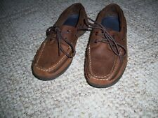 MEN'S RED HEAD LEATHER BOAT SHOES SIZE 9