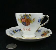 VINTAGE FOLEY CORONATION  ENGLAND BONE CHINA  TEA CUP AND SAUCER