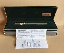 Aurora Fountain Pen  -  Penna Stilografica Aurora  -  H52 Hastil Gold Plated