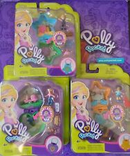 Polly Pocket Tiny Places Compact Playset set of 3 - Brand New-Fast Despatch