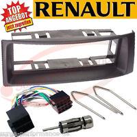 1-DIN Auto-Radio-Einbau-Komplett-Set RENAULT MÉGANE / SCÉNIC ab ´95 / BLACK