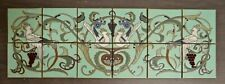 Contemporary 12-Tile Decorative Panel with Birds