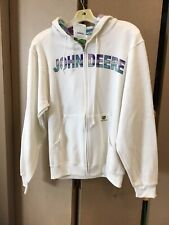 John Deere Zip Up Sweatshirt- Size Women's Small
