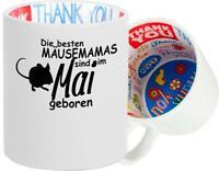 Dankeschön Keramiktasse, Die besten Mäusemamas sind im ... geboren Hund Frauchen