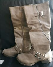 Ladies Tall Boots Size 4 Grey BNIB