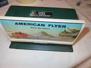 American Flyer 561 Billboard Horn Santa Fe Diesel w/Button