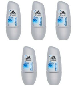 5X Adidas Climacool 48h Antiperspirant Roll On for Men 50 ml