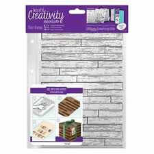 Wooden Boards Planks Background Clear Stamp Creativity Essentials by DoCrafts