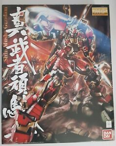 Bandai Plastic Model Kit Gunpla MG 1/100 Shin Musha Gundam 3/4 Built Complete