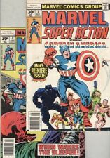 Marvel Super Action #1, #2, #3, #4 and #5 Kirby Captain America, Everett Marvel