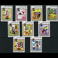 CAICOS ISLANDS 1983 Christmas. Disney. SG 30-38. Mint Never Hinged. (AX383)