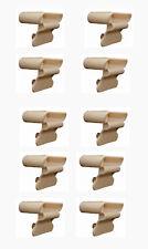 Dowelled Sprung Bed Slat Holders 53mm Wooden Frame x10