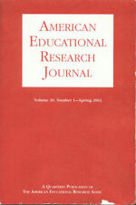 American Educational Research Journal Vol 39 Spring '02 ISSN 0002-8312