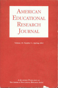 American Educational Research Journal Vol 39 Spring 2002 ISSN 0002-8312