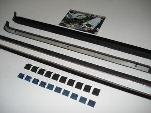 ESCORT MK1 MOULDED WINDOW TO DOOR SEAL & INNER SEAL KIT INCLUDING CLIPS