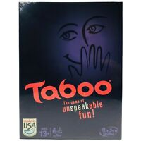 Taboo (2013) - Hasbro 600+ Keyword Guessing Board Game with The Squeaker and Die