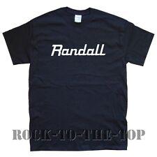 RANDALL NEW T-SHIRT sizes S M L XL XXL black white grey brown maroon