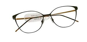 Götti Lane Titanium Eyeglasses - Colour - Moss Green & Gold